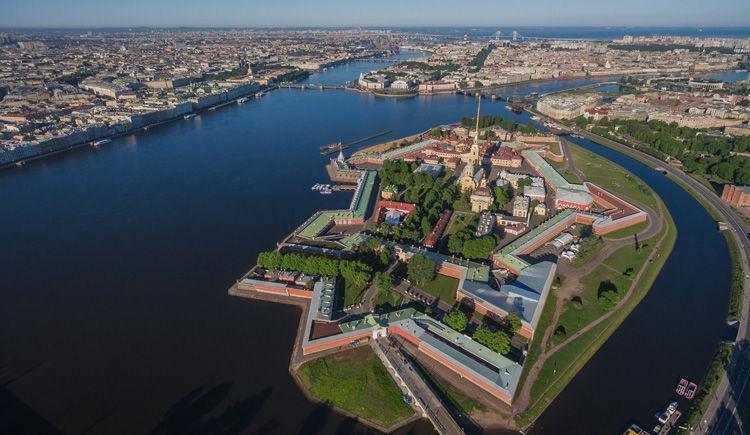 forteresse Pierre et Paul St-Petersbourg