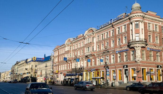 perspective nevsky st petersbourg