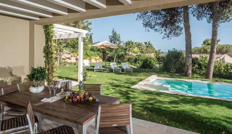Villa Ambra jardin