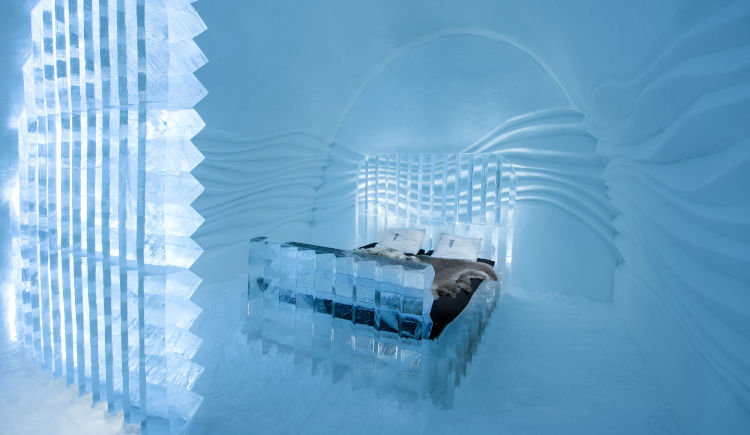 Icehotel chambres