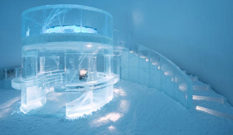 Icehotel Bar