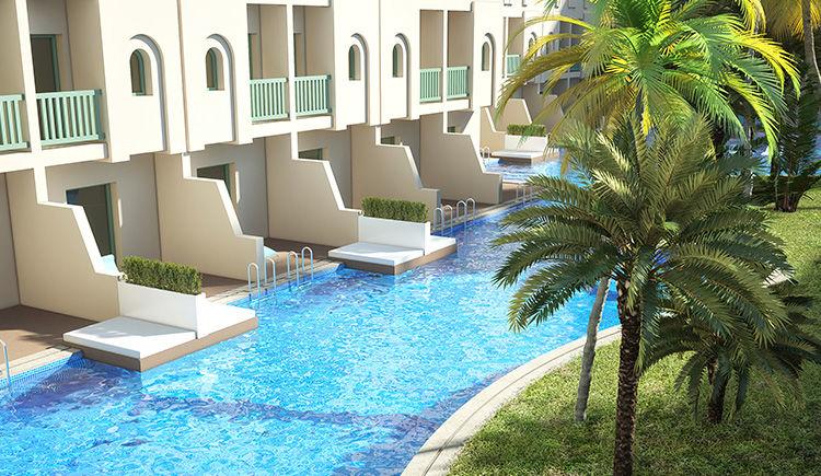 piscine chambre