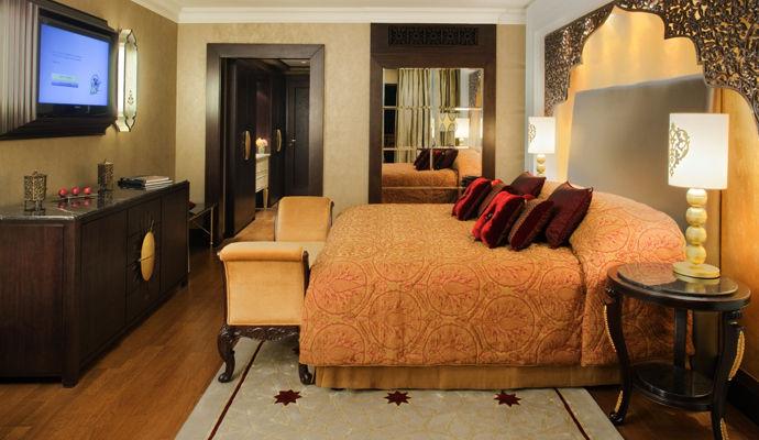 chambre deluxe jumeirah zabeel saray