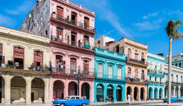 Paseo de Marti La Havane