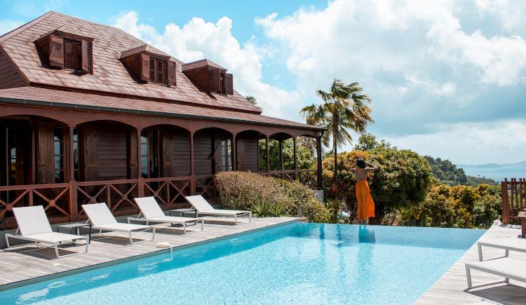 Jardin Malanga piscine