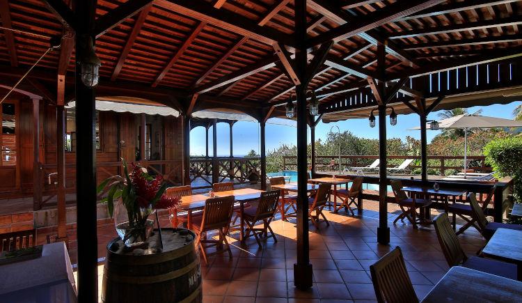Jardin Malanga restaurant