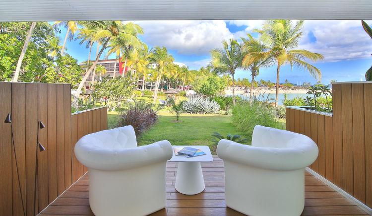 Chambre vue mer terrasse