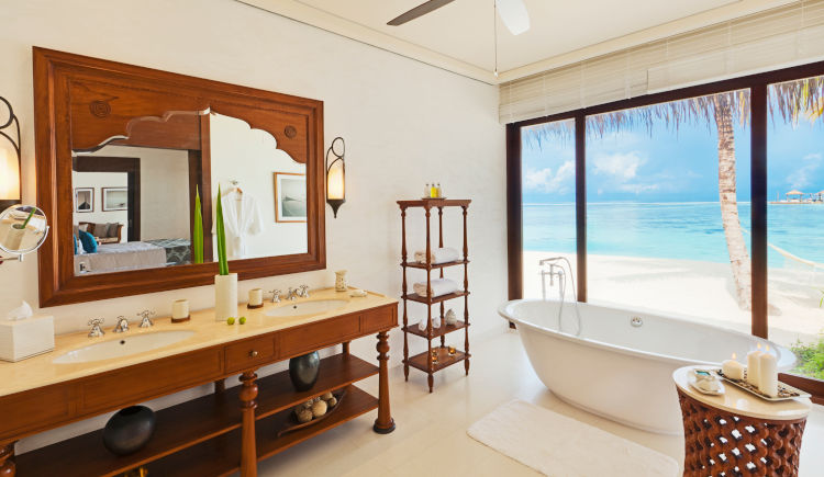 beach villa salle de bain