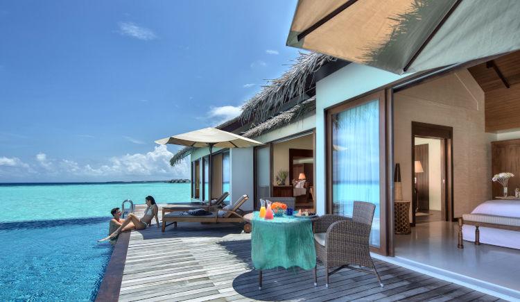 two bedroom water pool villa