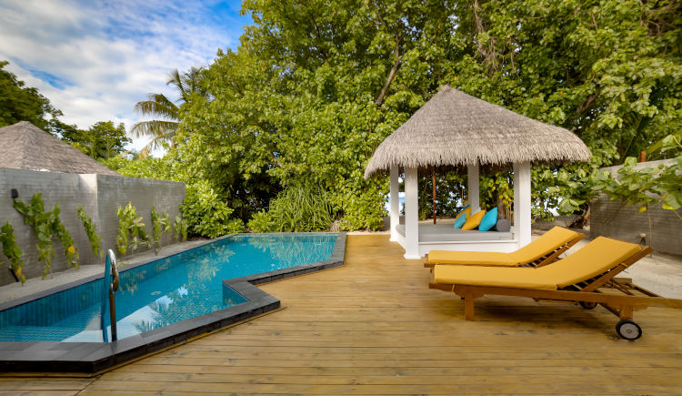 Dhoni villa avec piscine