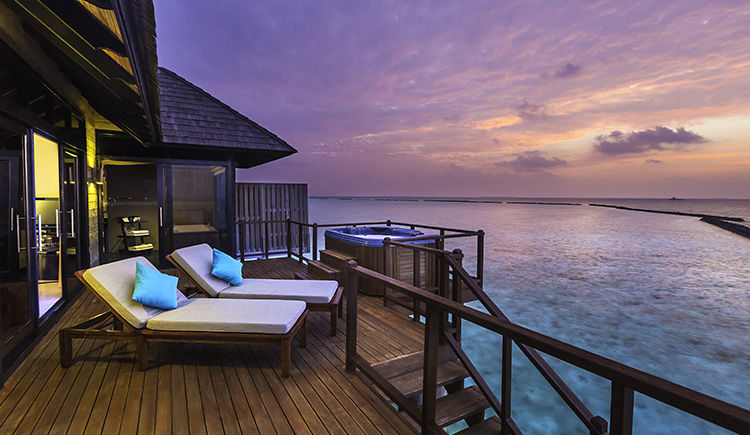 Horizon Water Villa terrasse