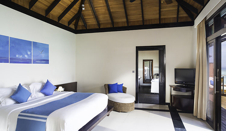 Infinity Water villa chambre