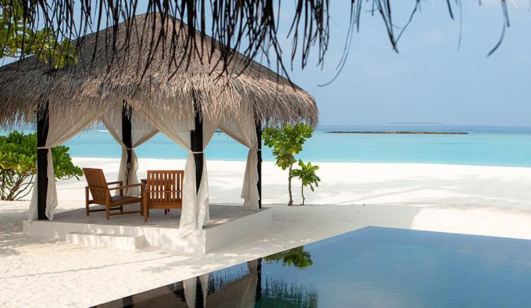 Deluxe Beach villa avec piscine