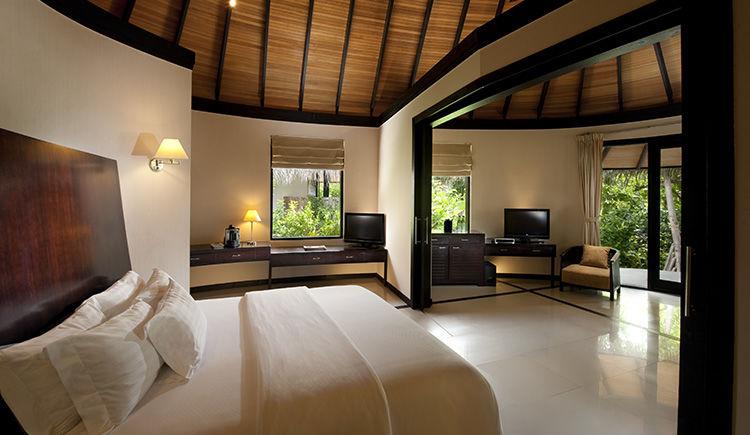 Pool Beach villa chambre