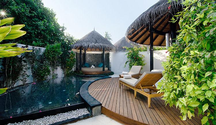 Pool Beach villa salle de bain