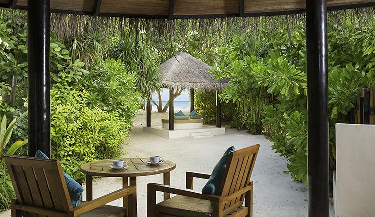 Pool Beach villa terrasse