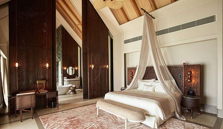 Water Villa chambre