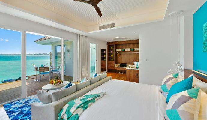 Aqua Villa chambre