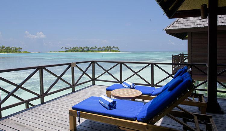Deluxe Water Villa terrasse
