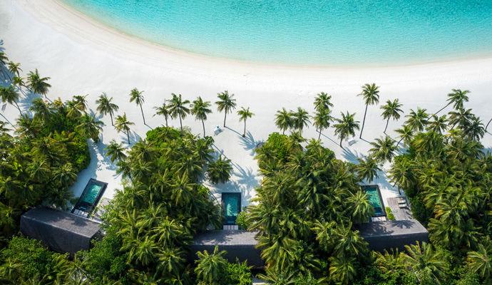 beach villa avec piscine privee