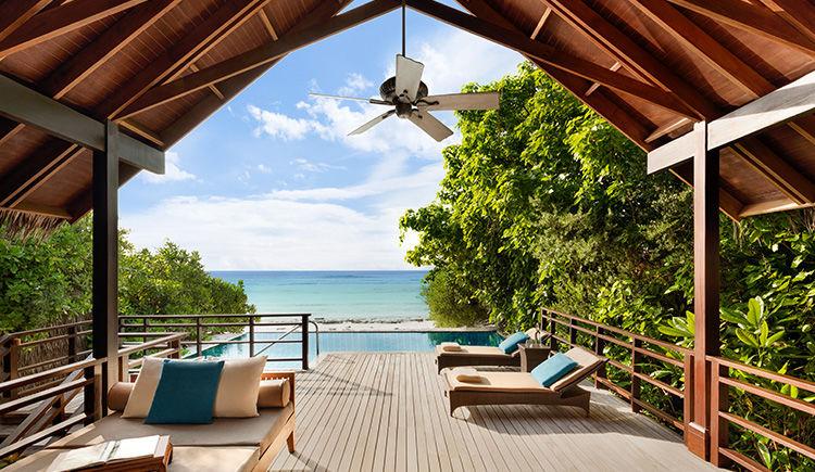 Pool Villa terrasse