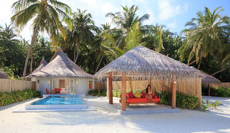 Deluxe Beach Villa avec piscine privee