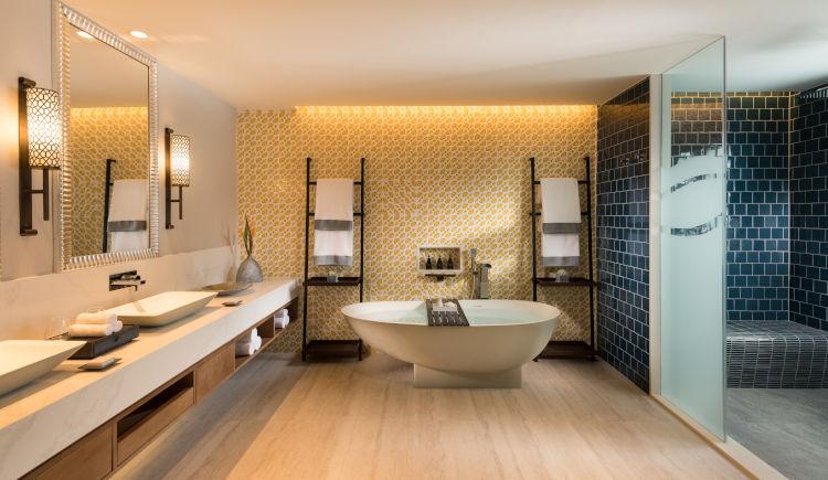 Salle de bain guest room ocean view suite