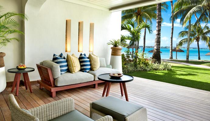 terrasse beach front suite