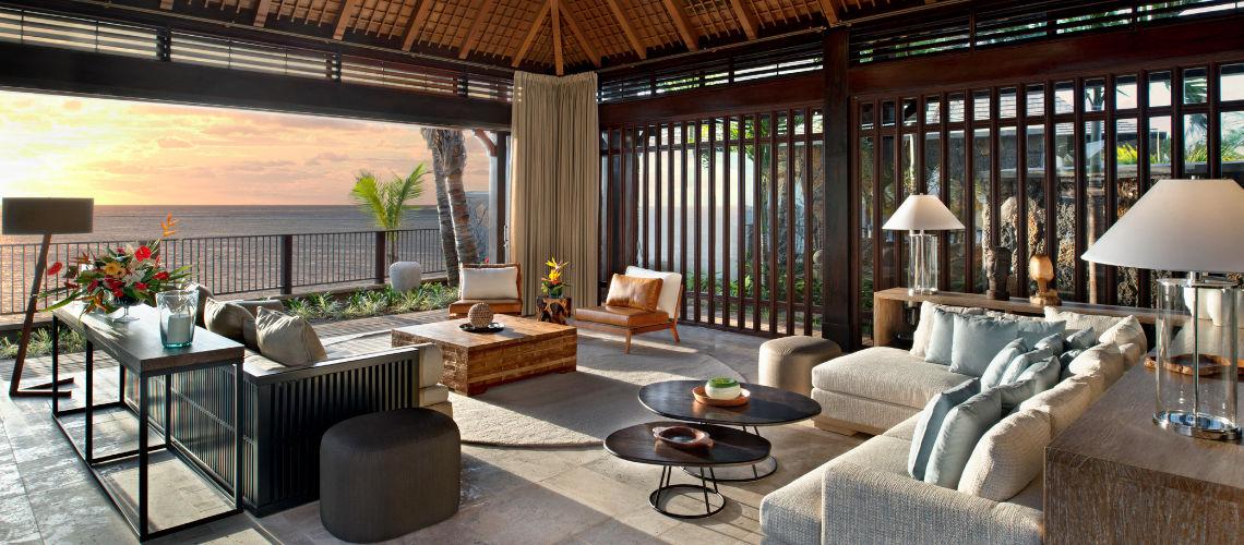 The St.Regis Villa lounge