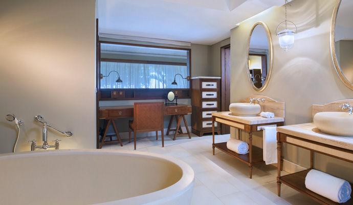 chambre deluxe salle de bains