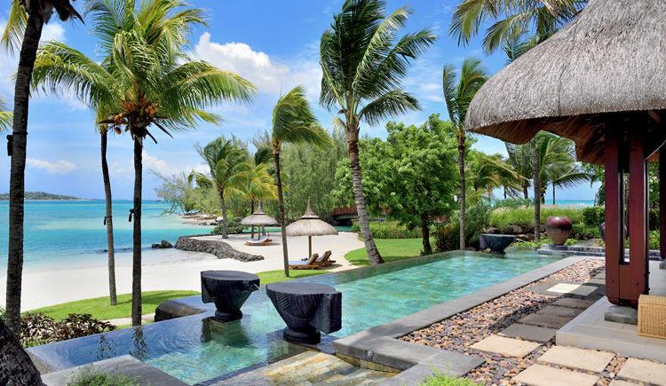 Beach Villa terrasse