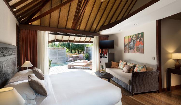 Hilton Moorea Garden pool bungalow