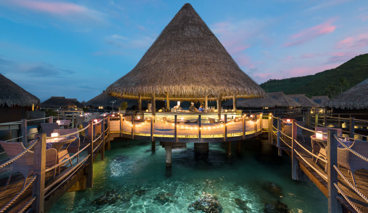 Hilton Moorea Restaurant Toatea Crepes Bar