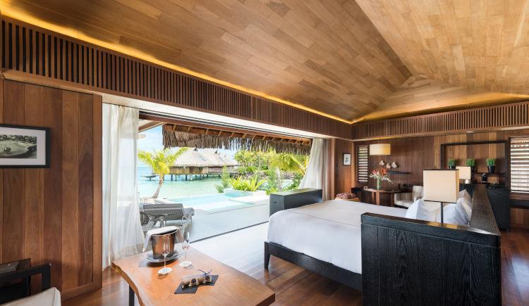Conrad Bora Bora beach pool villa