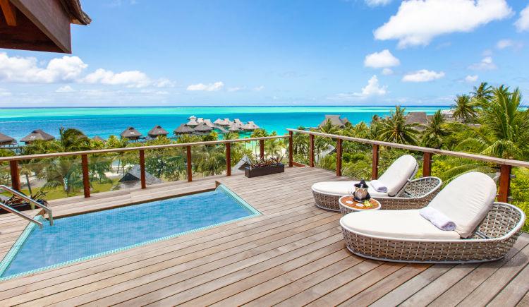Conrad Bora Bora horizon terrasse