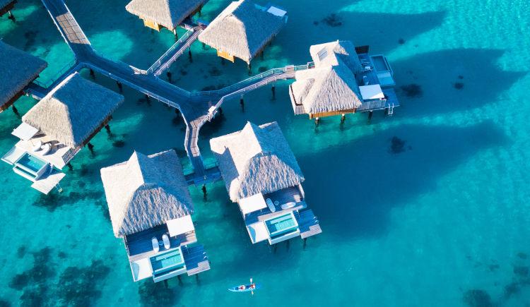 Conrad Bora Bora Chambres lagoons