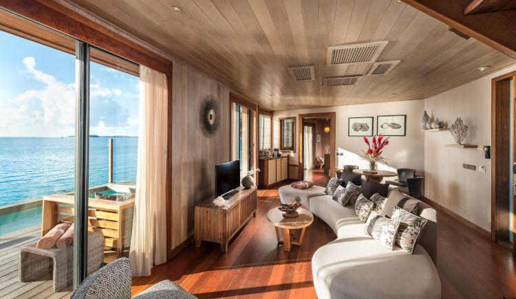 Conrad Bora Bora Presidential Suite salon