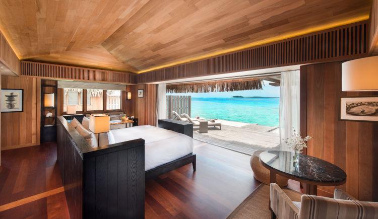 Conrad Bora Bora Villa owerwater