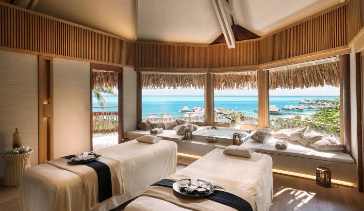 Conrad Bora Bora Spa massages