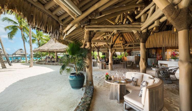 Conrad Bora Bora Restaurant Tamure Beach