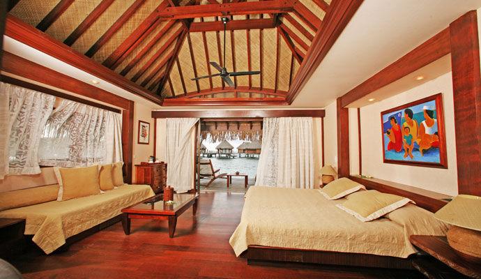 bungalow plage moorea pearl resort