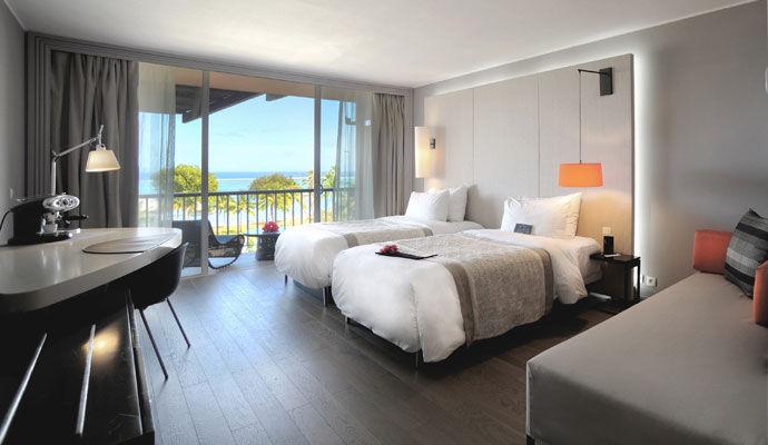 chambre vue lagon le meridien tahiti