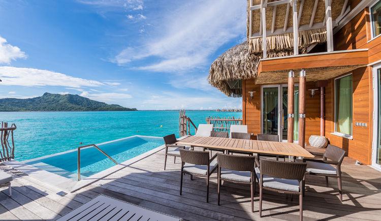 Terrasse Bando Suite Bora Bora