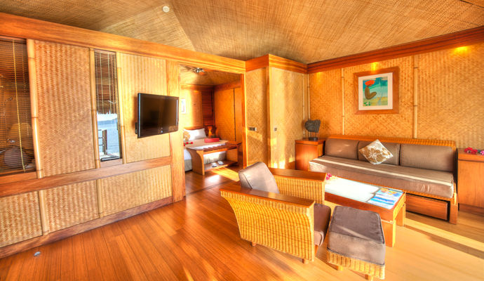 bungalow junior suite pilotis