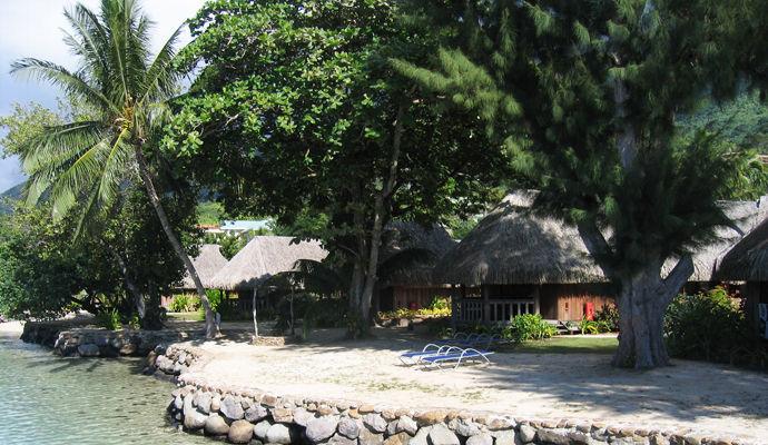 bungalow superieur vue lagon