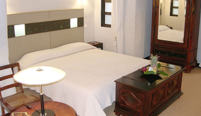 villa belle chambre creole