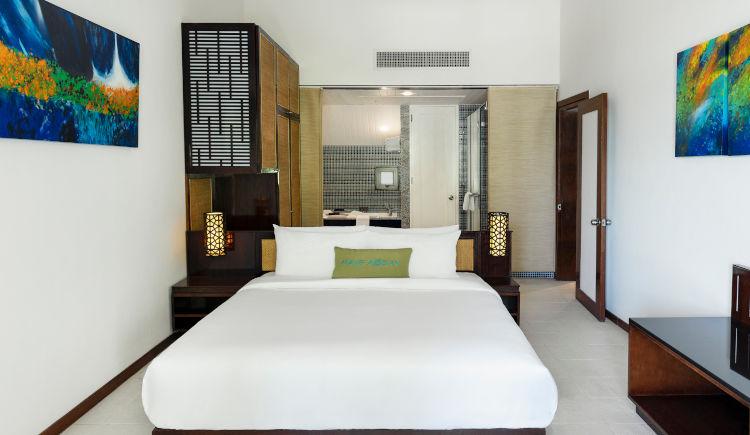 Ocean view suite bedroom