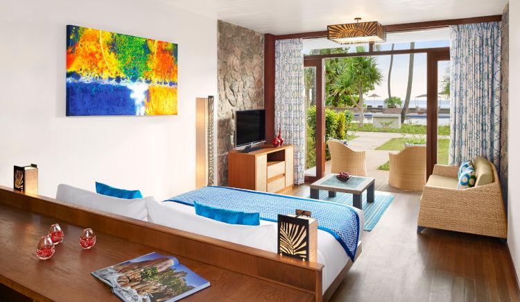 Guest room garden view