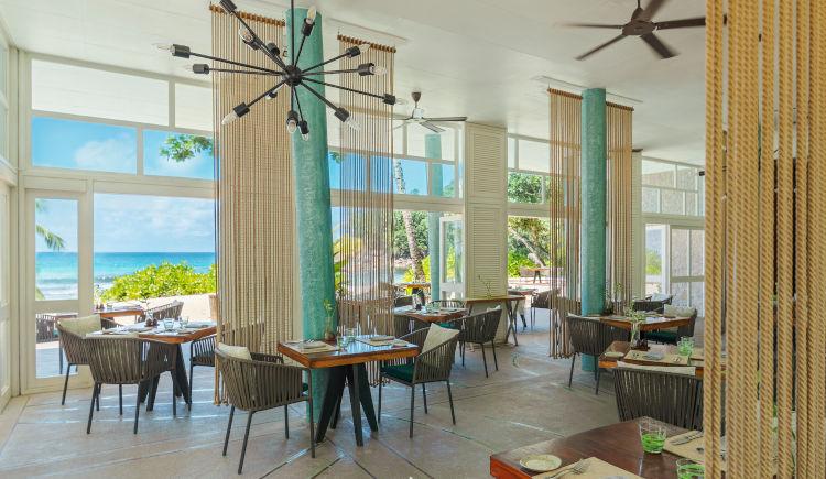 Restaurant Tamarind vue ocean