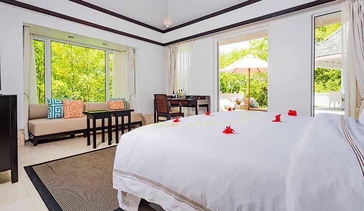 Sanctuary Pool Villa chambre